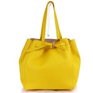 CELINE Cabas Phantom Drawstring Tote Shoulder bag